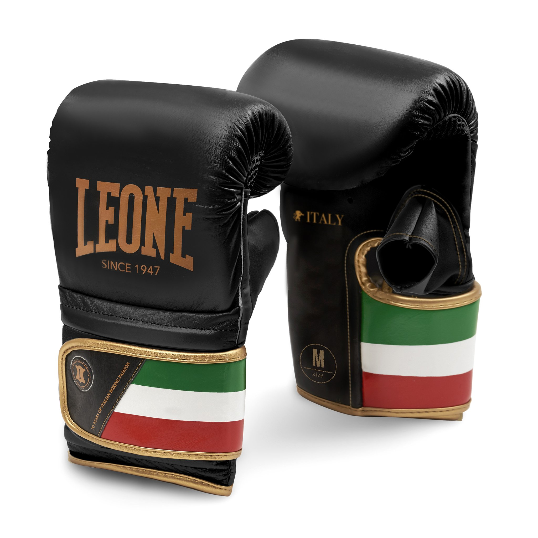 Leone GS090 Italy Bag Gloves (Black, S)