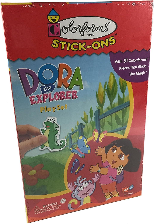 Dora the Explorer Colorforms Playset University Games 70231