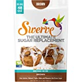 Swerve Brown Sweetener (48 oz): The Ultimate Sugar Replacement. KETO Friendly: Gluten Free: Non GMO: Packs Cup for Cup, Just