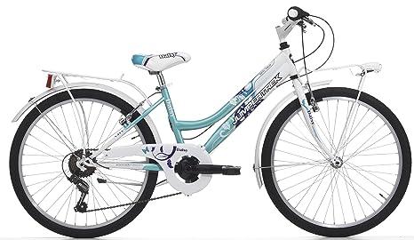 Cicli Cinzia Bicicletta Daisy Da Bambina Telaio In Acciaio Cambio 6 Velocità Ruote Da 24 Taglia 38