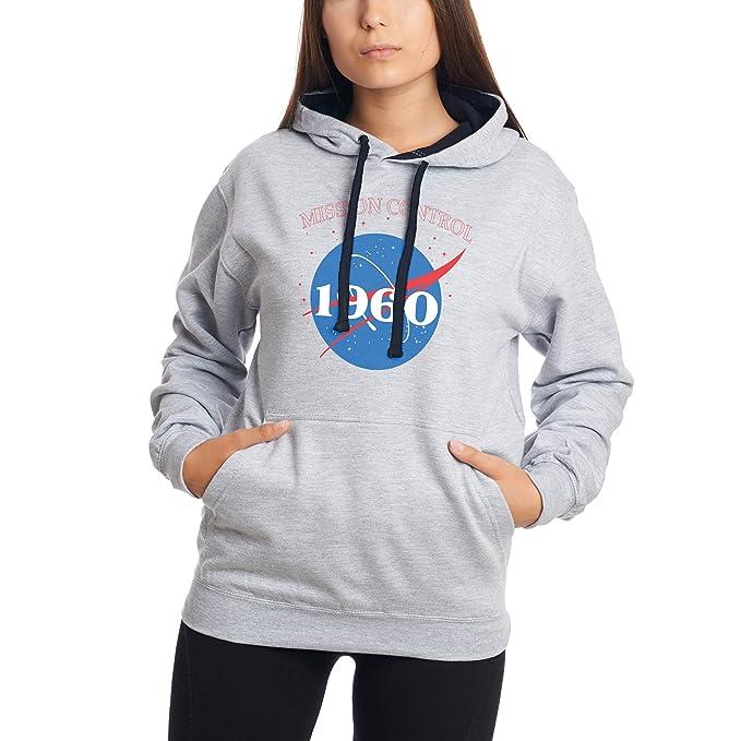 CHILLTEE NASA Mission Control Since 1960 Gift Birthday Premium Sudadera con Capucha Unisex: Amazon.es: Ropa y accesorios
