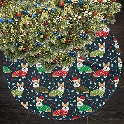Ugly Christmas Tree.Amazon Com Oijk Klok Corgi Ugly Christmas Christmas Tree
