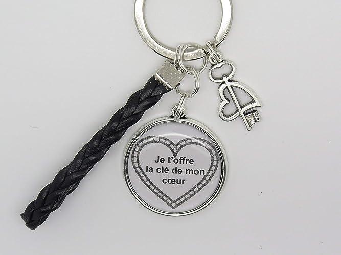 Idee Cadeau Pour Son Amoureux.Porte Cles Personnalisable Pour Une Epoux Un Mari Une Compagnon Idee Cadeau Saint Valentin Pour Declarer Son Amour