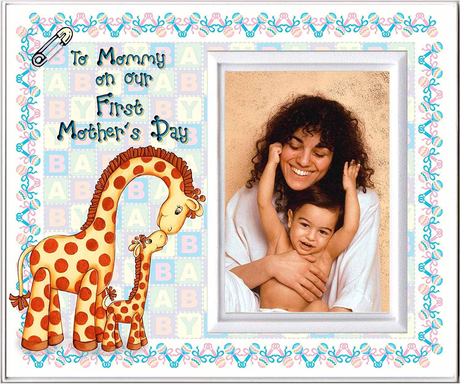 """to Mommy on Our First Mother's Day Picture Frame 