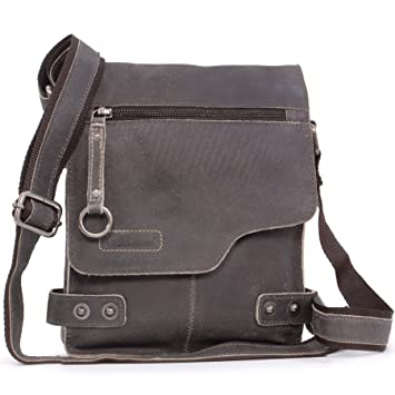 090172aae Ashwood - Camden 8351 - Bolso bandolera - Apto para llevar Kindle y iPad -  Cuero - Marrón: Amazon.es: Equipaje