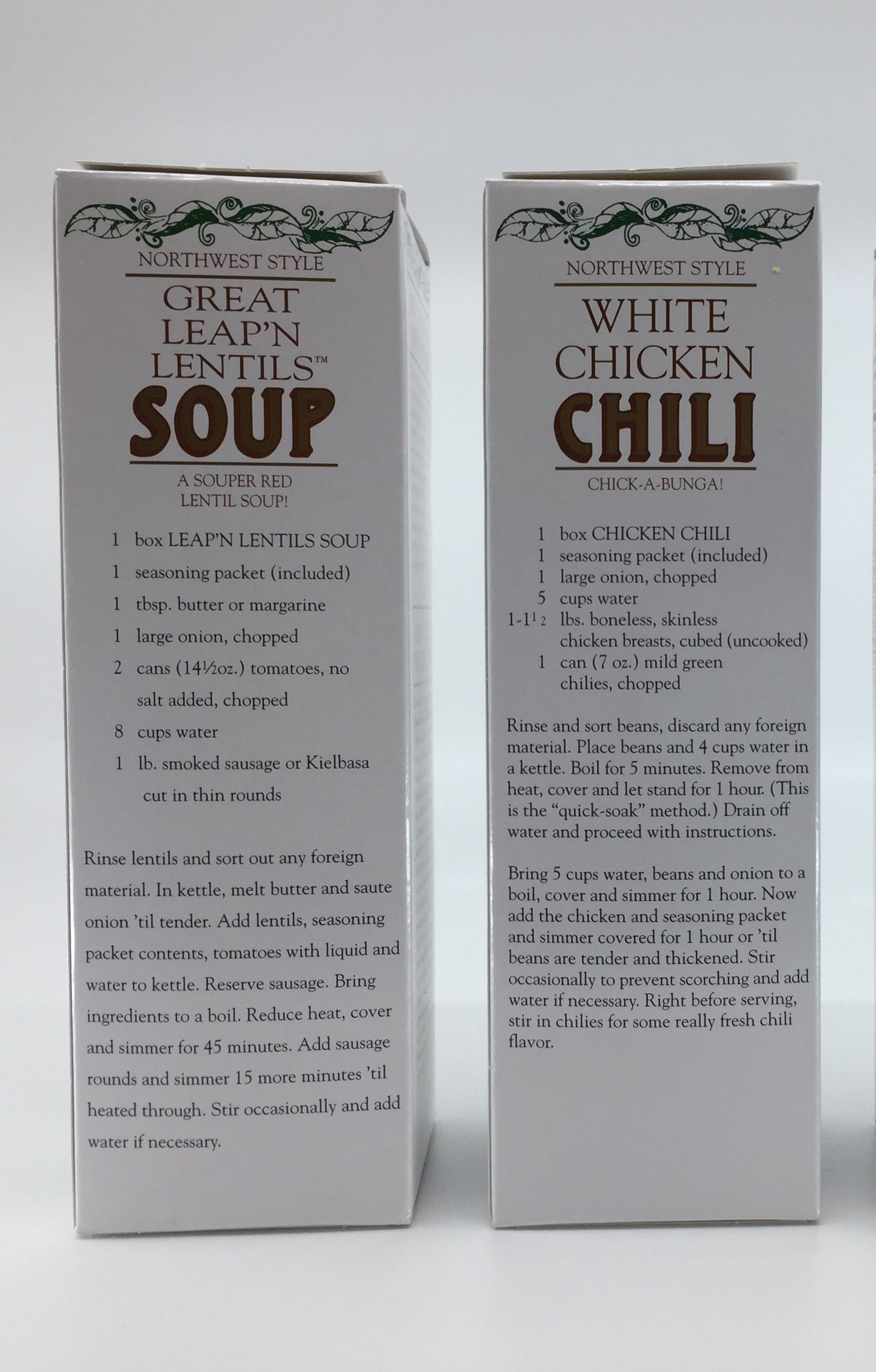 Buckeye Beans & Herbs Soup and Chili Variety of 2: Great Leap'n Lentil and White Chicken Chili – 12-14 Ounces Each (2 Items) by Buckeye Beans & Herbs customs