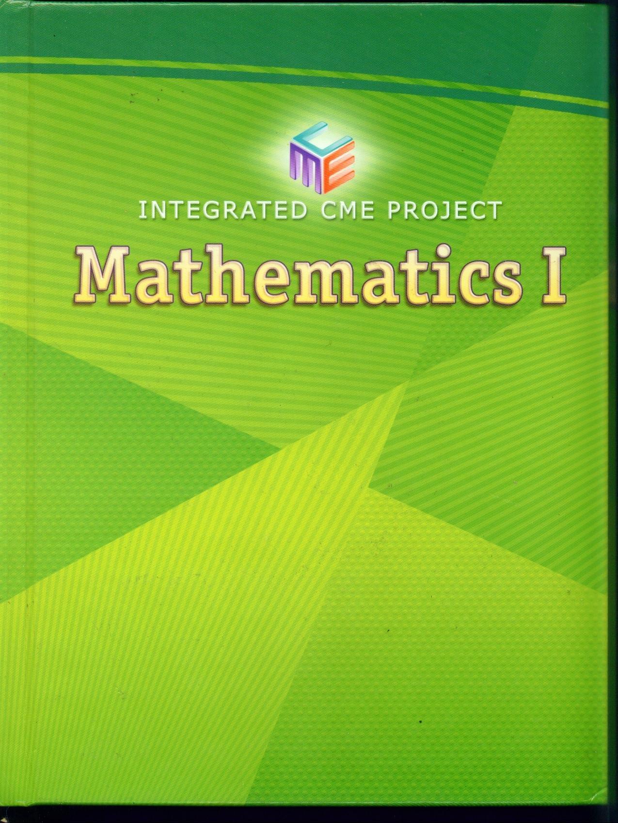 Mathematics 1. Integrated CME Project pdf epub