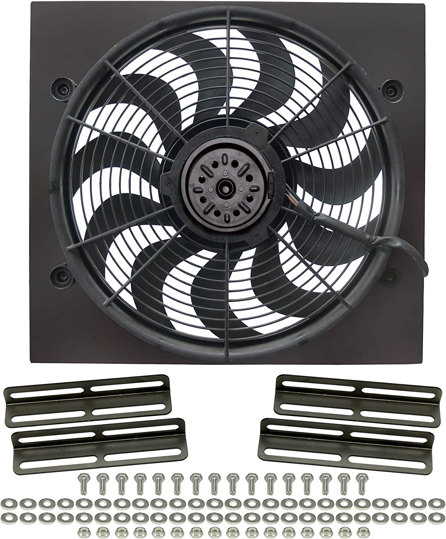 Derale 16919 High Output Single Radiator Fan