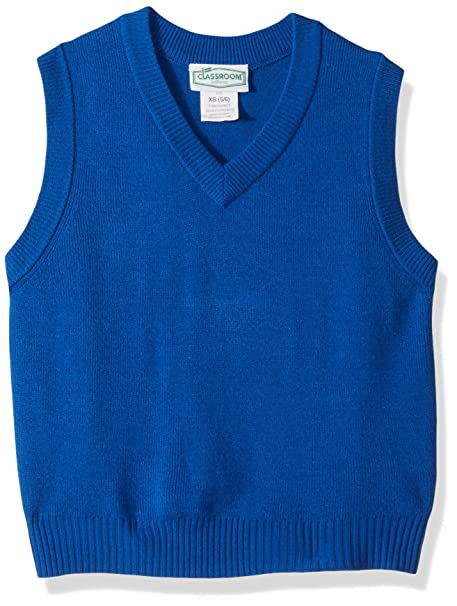 654f7bcaba1c Amazon.com  Classroom School Uniforms Kids  V-Neck Sweater Vest ...