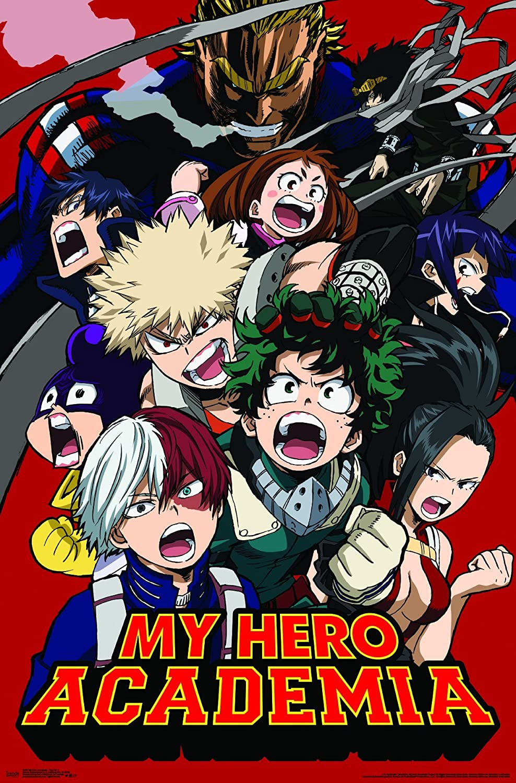 My Hero Academia Poster Charaktere