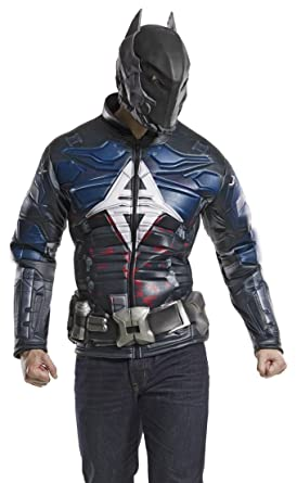 DC Comics Menu0027s Arkham Knight Muscle Chest Costume Top Multi Small  sc 1 st  Amazon.com & Amazon.com: DC Comics Menu0027s Arkham Knight Muscle Chest Costume Top ...