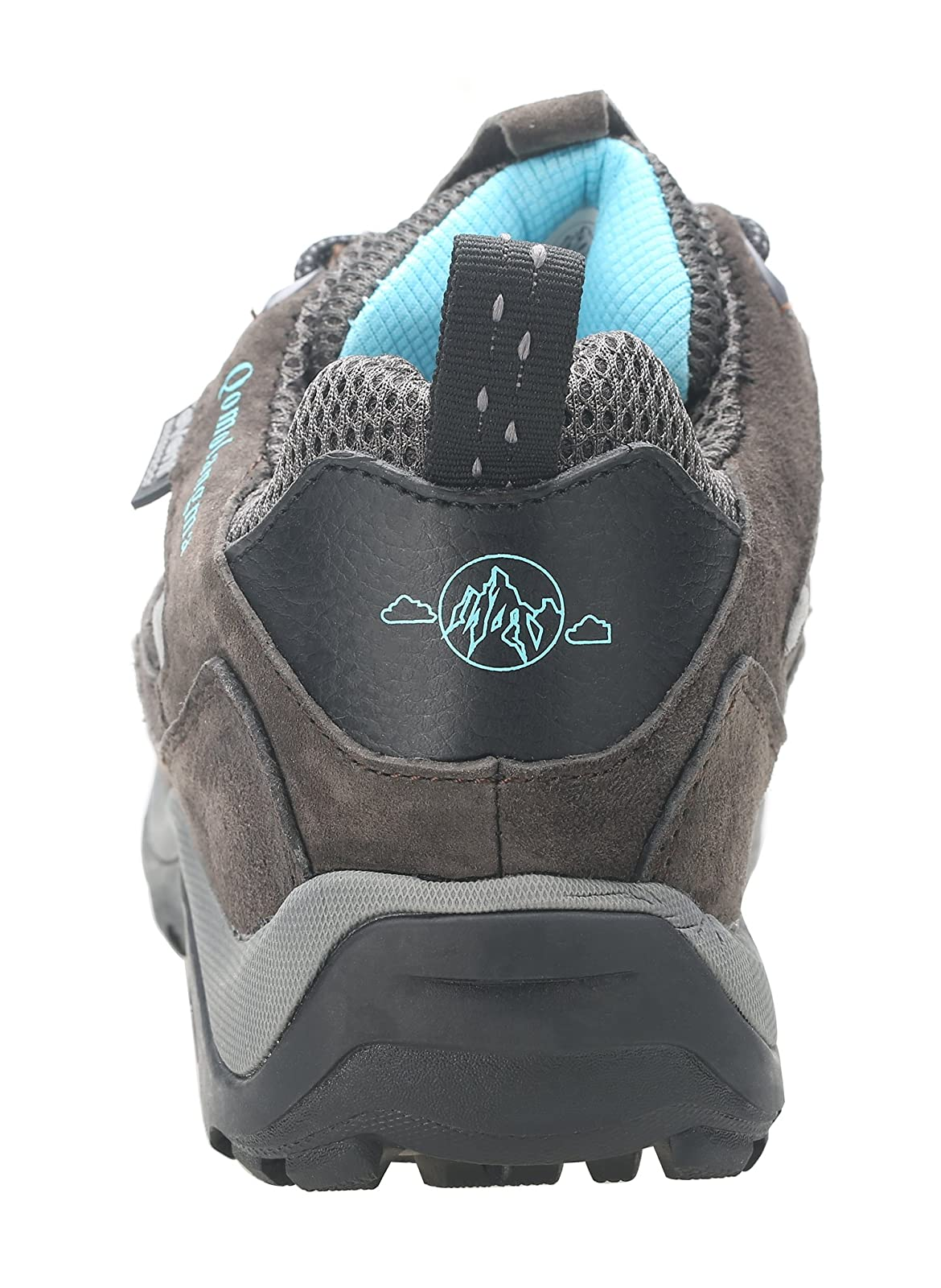 QOMOLANGMA Women's Waterproof Wide Hiking Shoes W91501 - 2