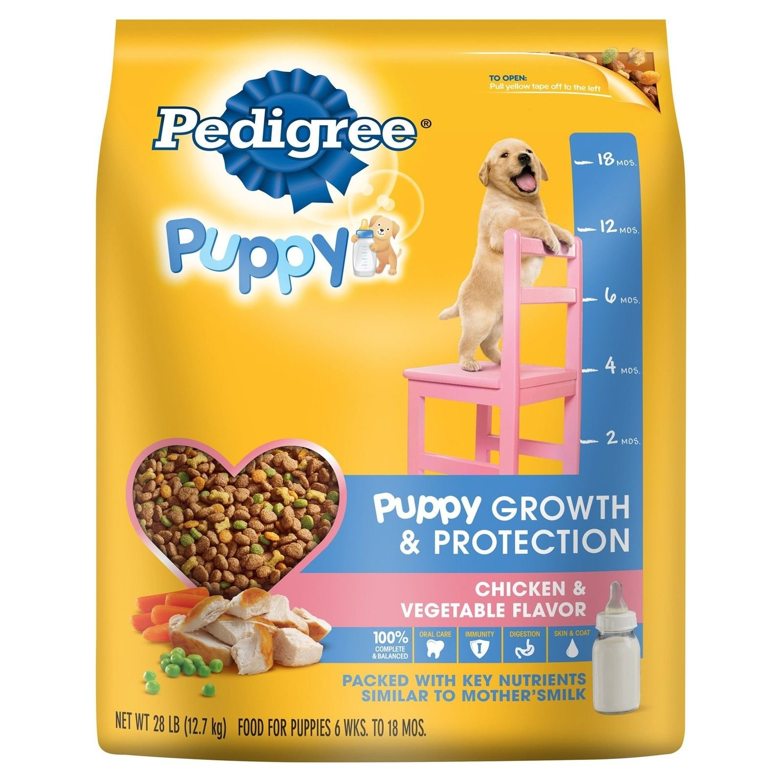 PEDIGREE Complete Nutrition Puppy Dry Dog Food Chicken 28 lbs.