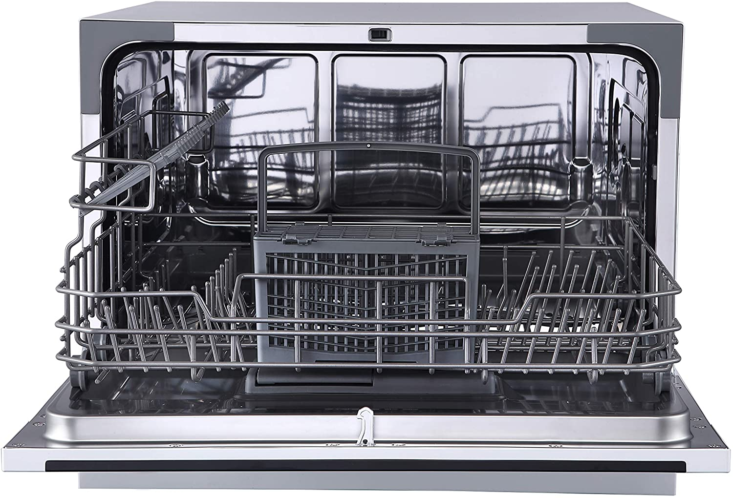 Stainless Digital 6 Piece Farberware FCD06ASSWHB Countertop Dishwasher