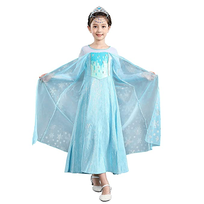 Marvelous Amazon.com: Dressy Daisy Luxury Girls Elsa Dress Up Costumes Snow Queen  Fancy Party Dress: Clothing