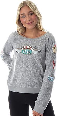 Friends Central Perk Logo Licensed Junior V-Neck T-Shirt