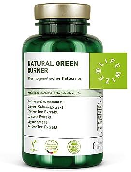 LifeWize® Fatburner Kapseln - Natürlicher Fettverbrenner Zum Abnehmen & Diät -120 Kapseln Hochdosiert - Aus Deutschland, Vega