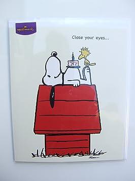Peanuts Snoopy Birthday Card By Hallmark