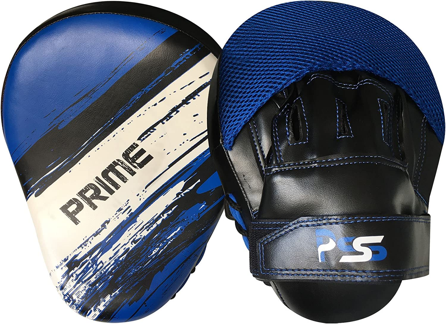 Blue Sizes 10//12//14//16 OZ Comes With Wrist Wrap And Focus Pads set 45 Prime Sports Shop Ultimate Premium Quality And Comfortable Adult Boxing Gloves PU Leather Punching Training Mitts Fight Gloves Colour