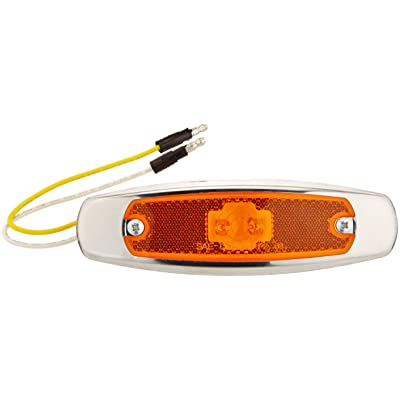 Grote 47253 SuperNova Low-Profile LED Clearance Marker Light with Bezel: Automotive