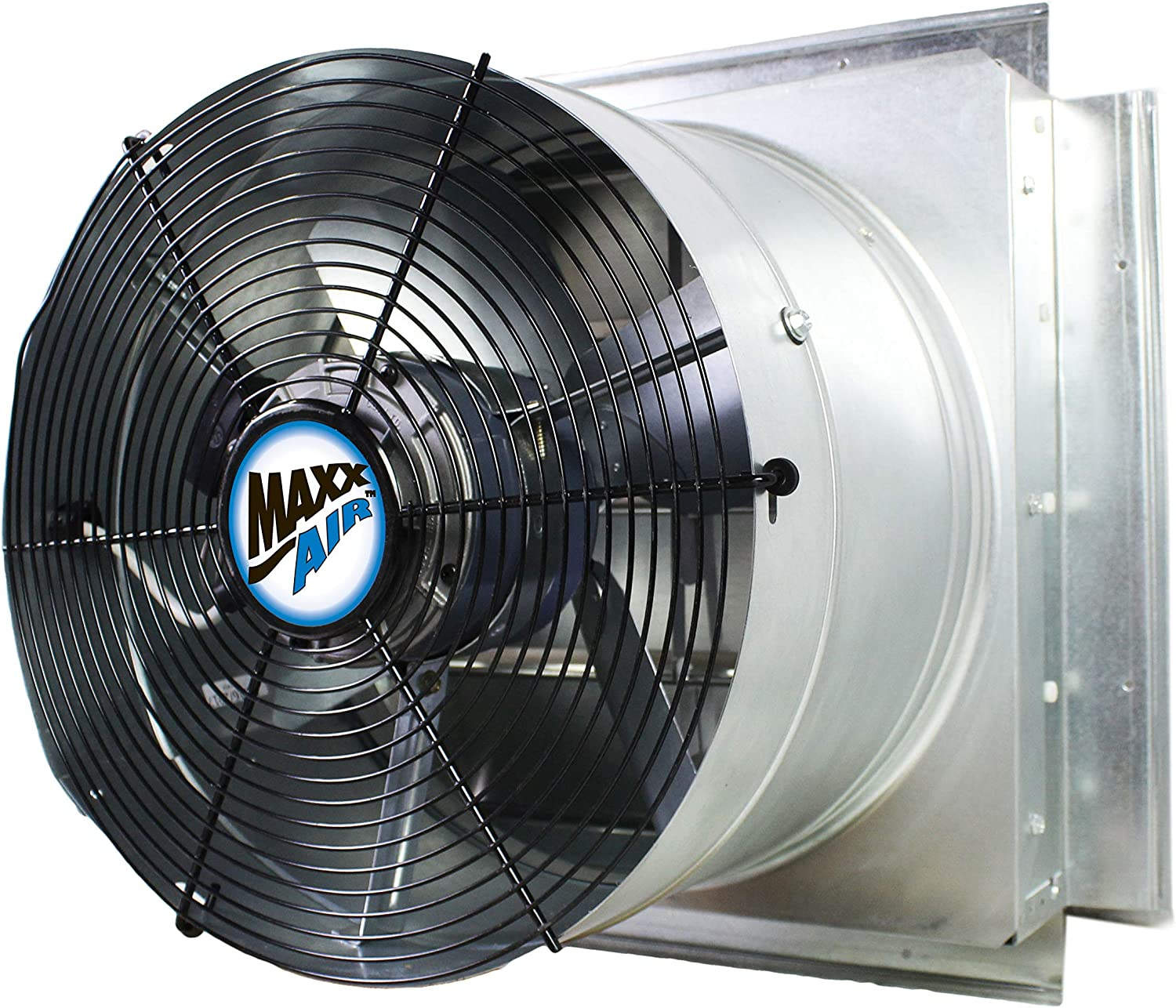 MaxxAir IF14UPS Powerful Industrial Exhaust Fan, Wall-Mounted, 14-Inch