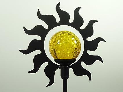 LED Solarlampe Kugelleuchte Kugellampe Garten Deko Beleuchtung Garten Stecker