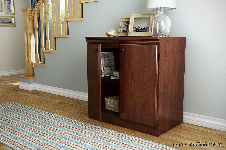 Floor Storage Cabinets Amazoncom South Shore Morgan Collection Storage Cabinet Royal