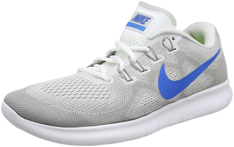 Nike Free RN 2, Zapatos para Correr para Hombre 41 EU|Gris (Vast Grey/Blue Nebula-blue Hero-atmosphere 009)