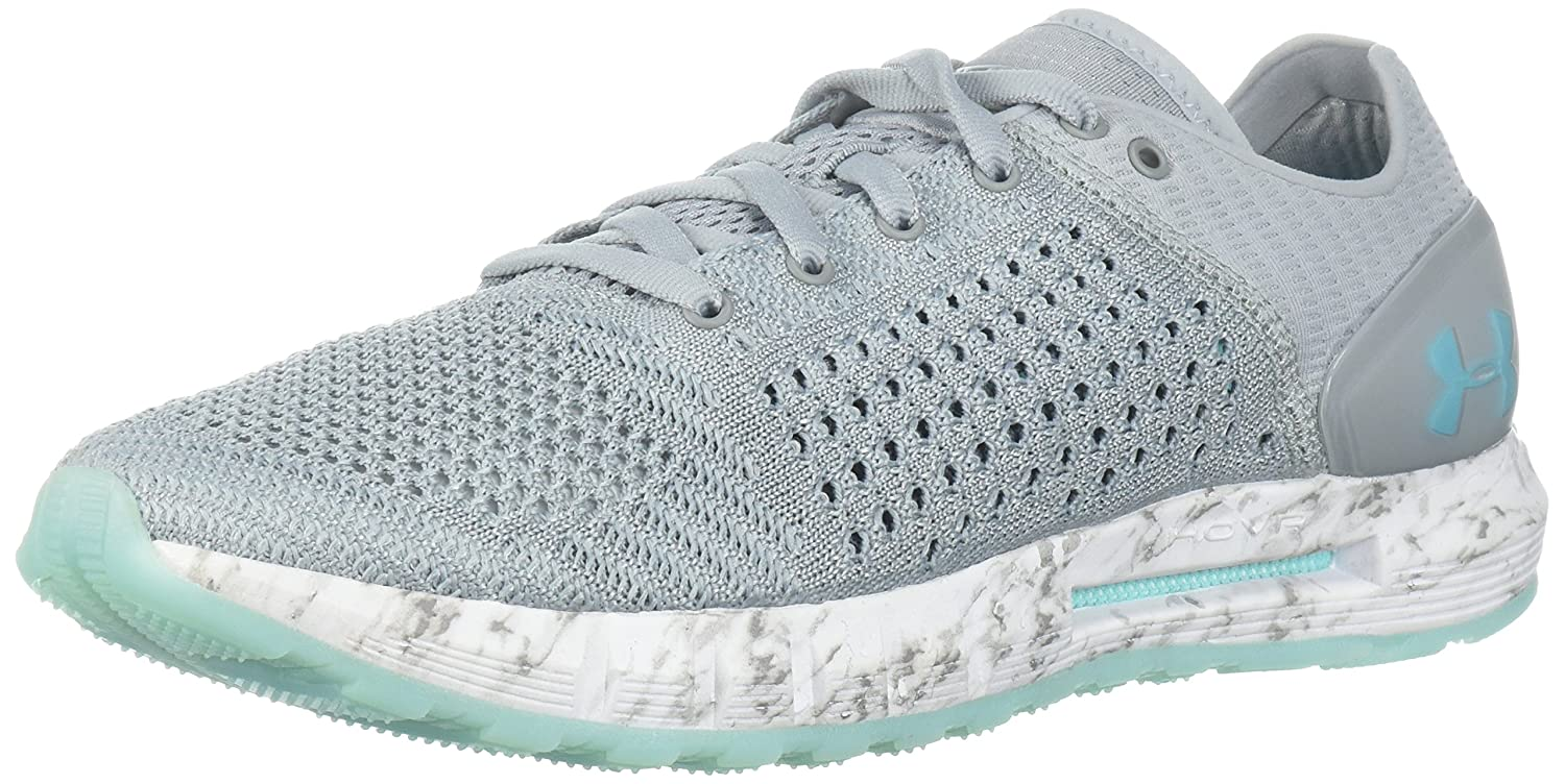 Under Armour Women's HOVR Sonic NC Running Shoe B074ZPK5XX 9 M US|Overcast Gray (101)/White