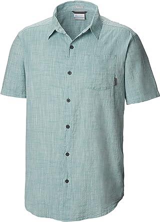 Columbia Under Exposure Yarn Dye camisa de manga corta para hombre: Amazon.es: Ropa y accesorios