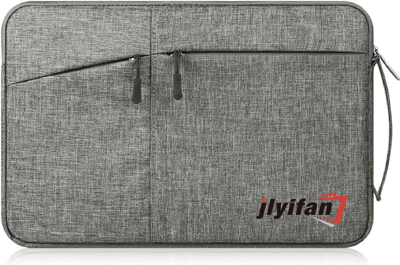 Zippered Canvas Carrying Sleeve Bag Breifcase for Samsung Galaxy Book 12 / Lenovo Miix 710 12 / Asus Transformer 3 12.6 / Eve V 12 / iPad Pro 2 12.9 / Dell Latitude 5285