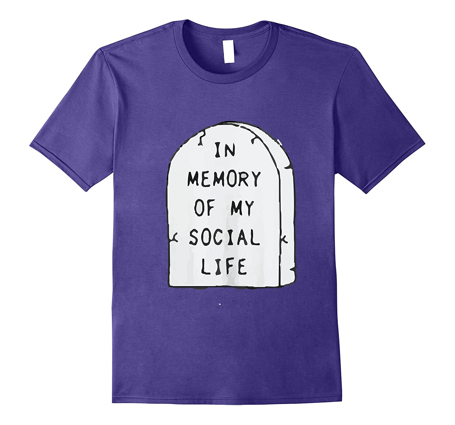 NO SOCIAL-LIFE FUNNY and Authentic T-Shirt-CD