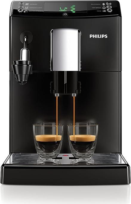 Philips Cafetera Espresso súper automática HD8832/01, 1850 W, 2 ...