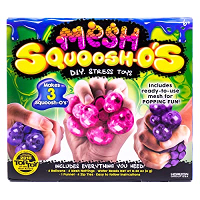 Squoosh-Os Mesh D.I.Y. Stress Toys by Horizon Group USA: Toys & Games
