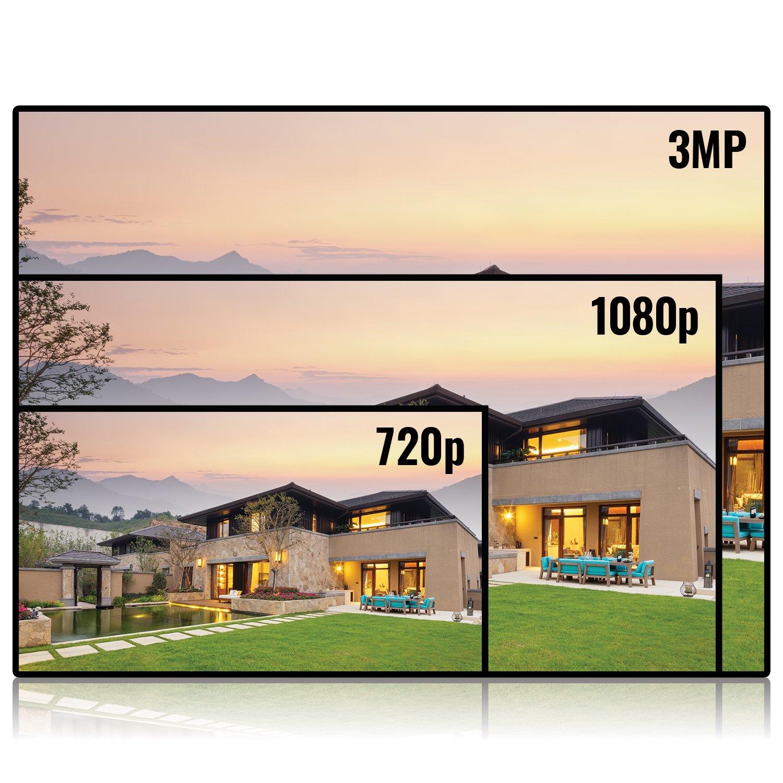 EZVIZ FULL HD 1080p Outdoor Surveillance System 100ft Night Vision 16 Channel 2TB DVR Storage 12 Weatherproof HD Security Cameras Customizable Motion Detection
