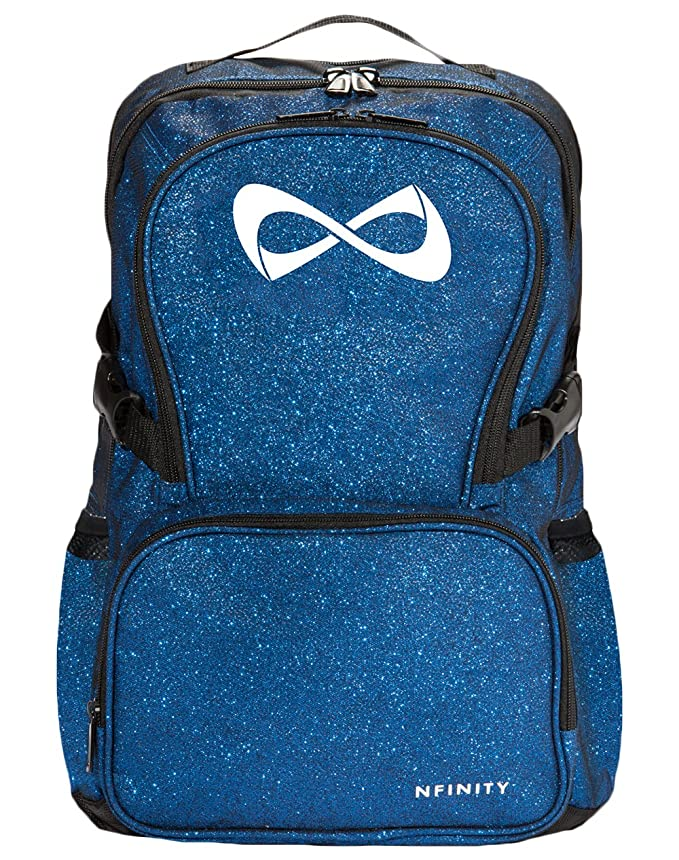 "Amazon.com: Nfinity Sparkle Backpack Girls Glitter Bookbag | Perfect for Travel, School, Gym, Cheer Practices | 15"" Laptop Compartment 