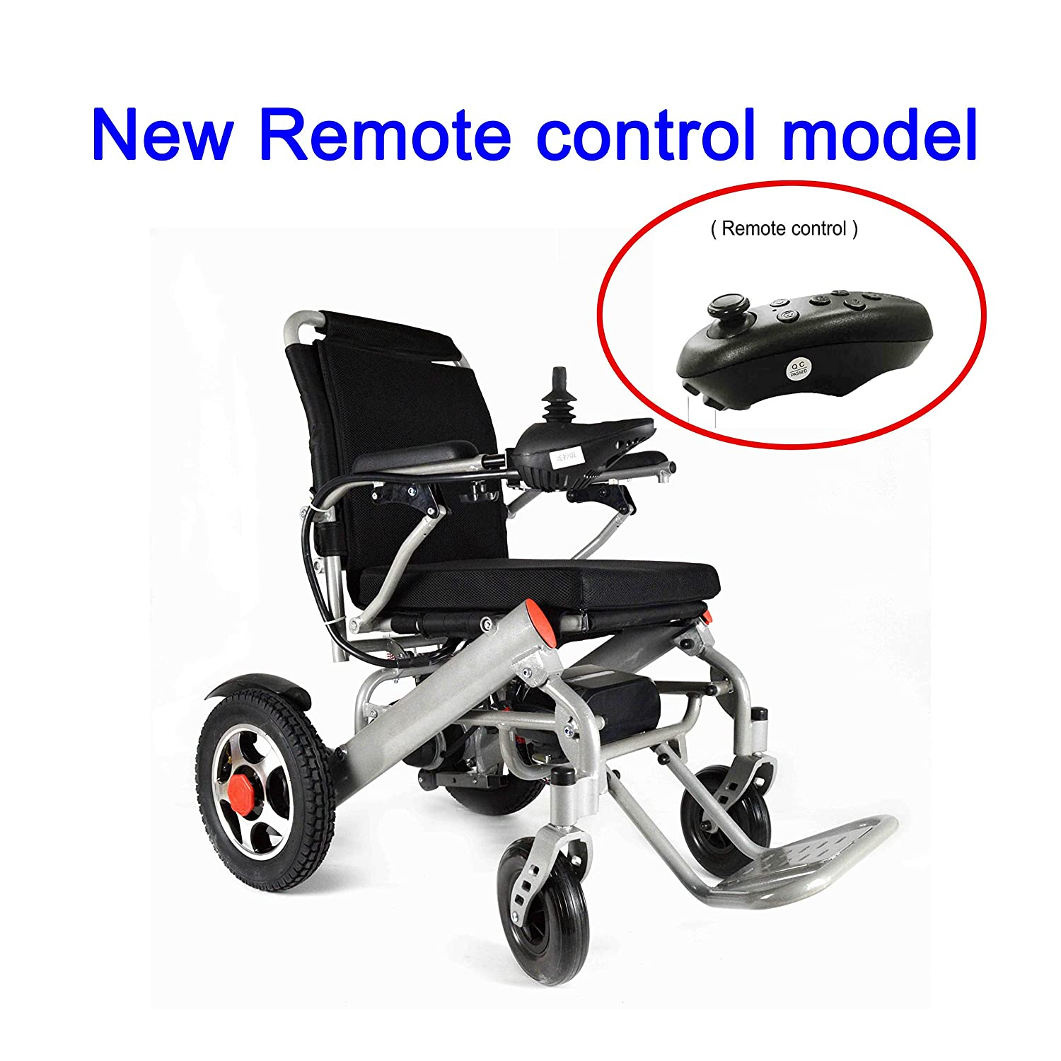 Amazon.com: ODESS 2018 New FDA Approval Electric Power Wheelchair - only 50 lbs with Battery: Health & Personal Care