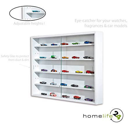 H24living Display Cabinet Collection Cabinet Glass Display Case