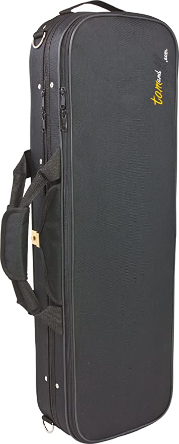 Tomandwill 43VL44-600 - Estuche para violín, color negro: Amazon.es: Instrumentos musicales
