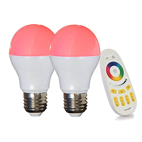 Lighteu LT-6W-RGB-2-F - Bombillas luz LED, 6W