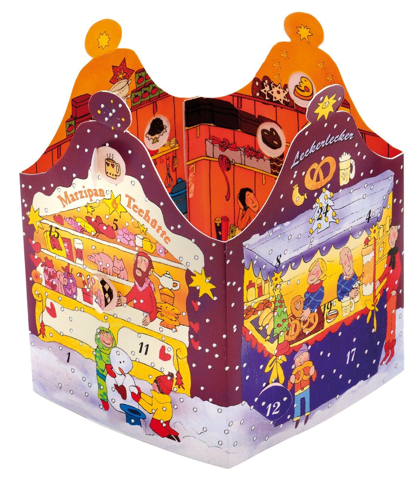 Auf dem Weihnachtsmarkt: Adventskalender