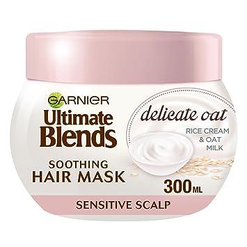 Garnier Ultimate Blends Oat Milk Sensitive Scalp Hair Mask 300 Ml