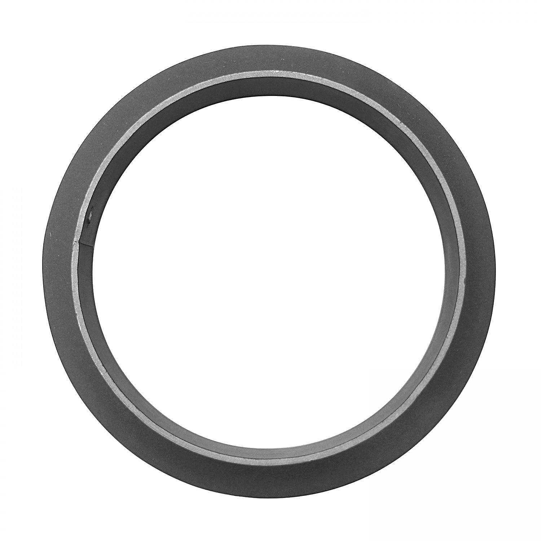 Raik SH013-008-GG humo de tubo//tubo Reducci/ón de 130 mm 120 mm de hierro fundido de colour gris