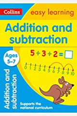 Addition and Subtraction Ages 5-7: Prepare for school with easy home learning (Collins Easy Learning KS1) Kindle Edition