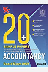 20 Plus CBSE Sample Papers Accountancy Class 12 for 2021 Exam with Reduced Syllabus Kindle Edition