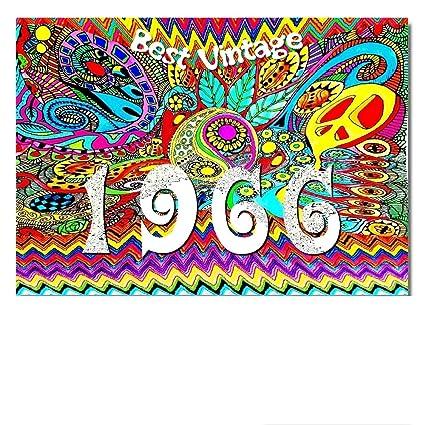 DigitalOase 1966 Best Vintage Tarjeta de 52. cumpleaños 52 ...
