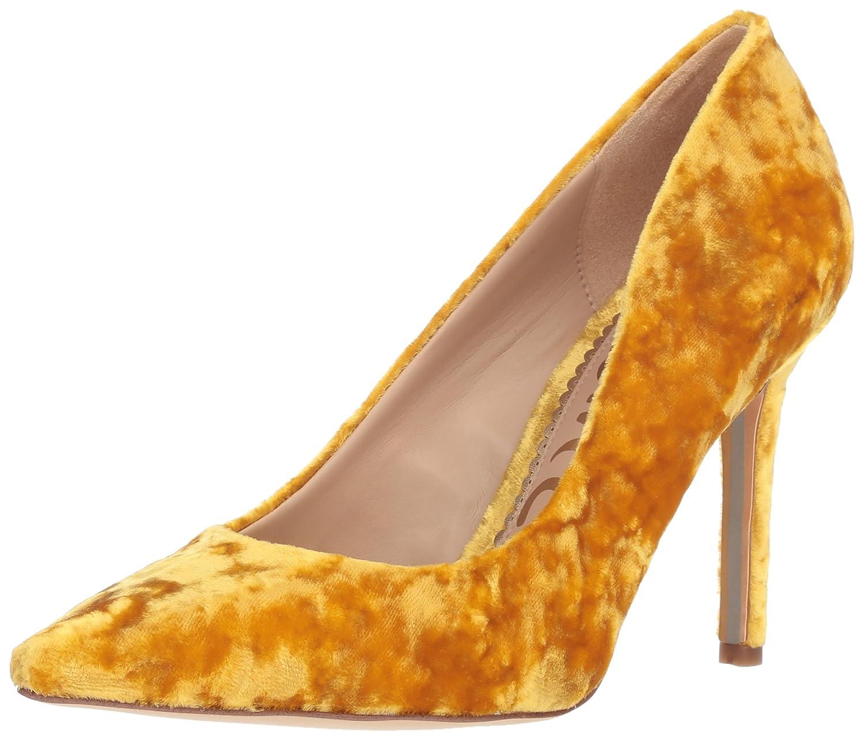 Tuscan Yellow Velvet Sam Edelman Women's Hazel Pump