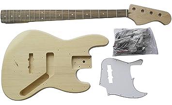 DIY Kit - Construye tu propia guitarra: Amazon.es: Instrumentos musicales