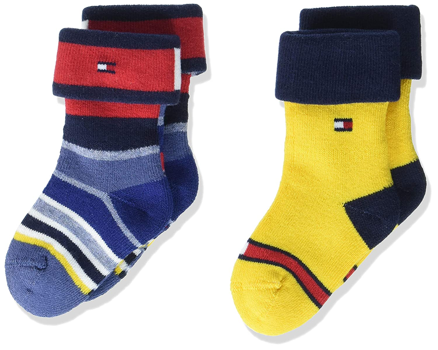 Tommy Hilfiger Unisex Baby Socken Th Baby Newborn Ny Zoo Giftbox 3p
