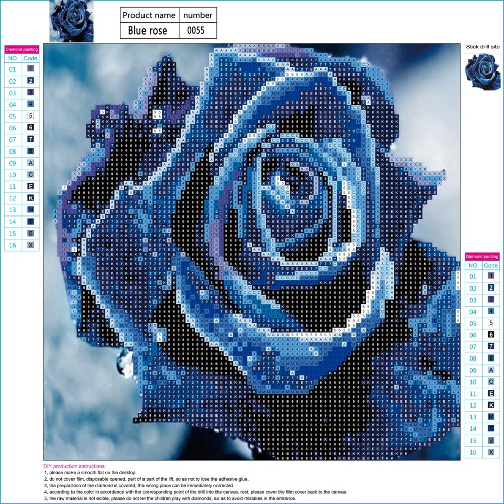 Adarl 5D DIY Full Drill Diamond Painting Rhinestone Floral Cat Pictures of Crystals Kits Arts Crafts /& Sewing Cross Stitch